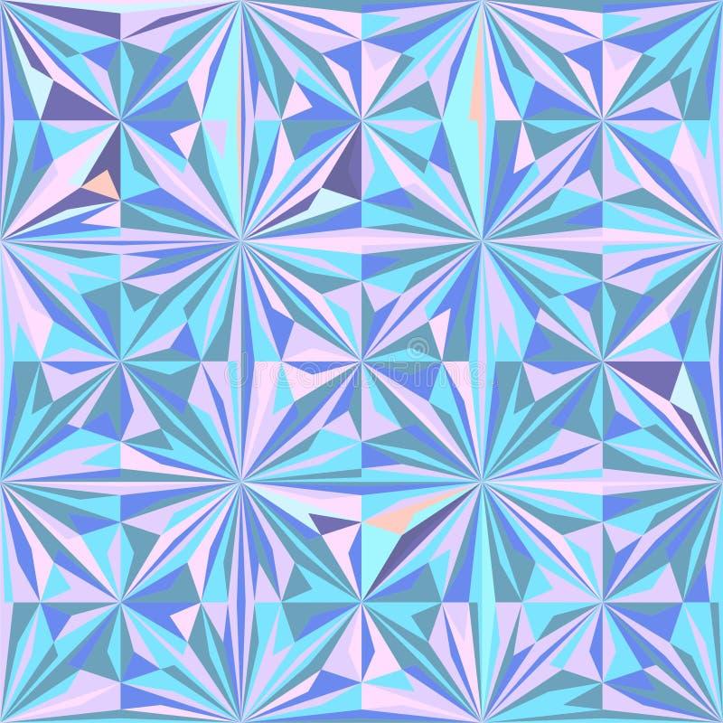 Vector geométrico inconsútil del fondo del modelo del inconformista del vintage libre illustration
