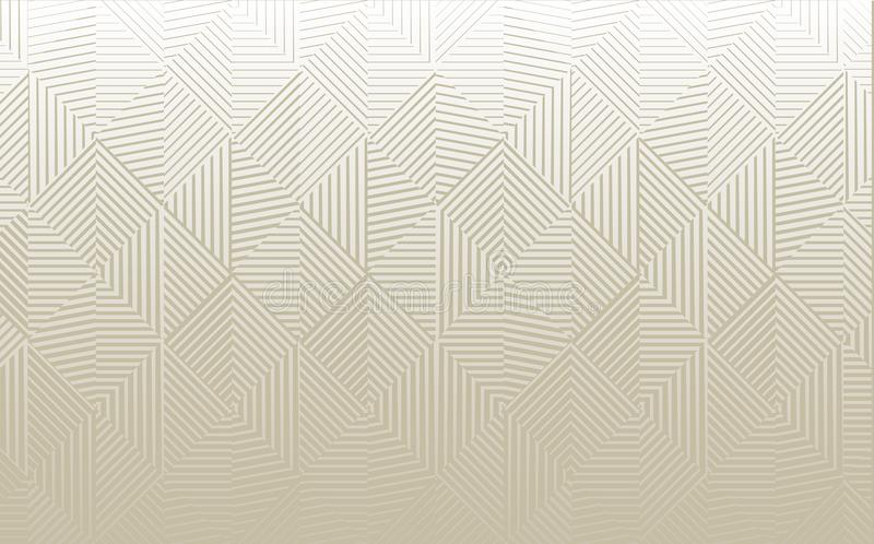 Vector Geometric Background royalty free illustration