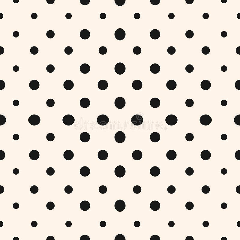 vector geometric halftone seamless pattern with circles stock rh dreamstime com vector halftone patterns vector halftone download