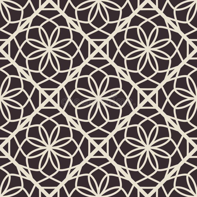 Vector Geometric Pattern royalty free illustration