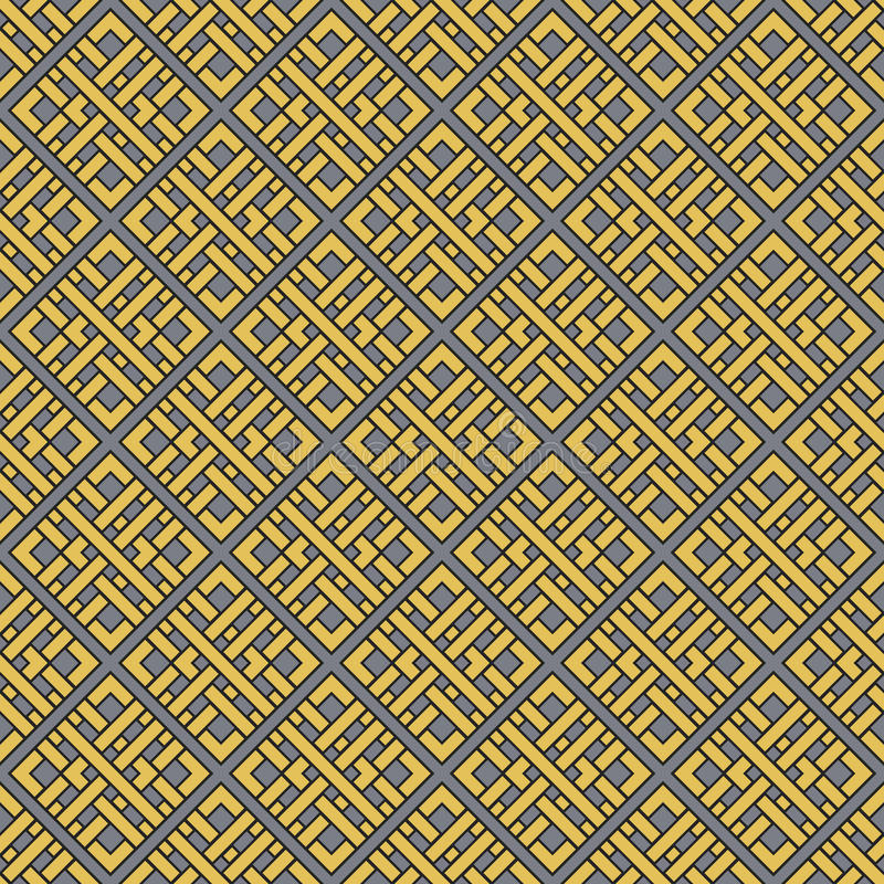 Vector Geometric Pattern. Seamless texture with arabic geometric ornament. Vector pattern vector illustration