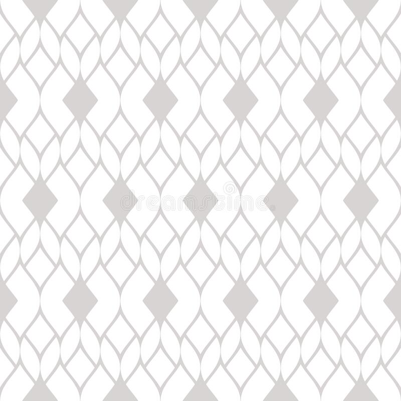 Free Vector Geometric Seamless Pattern. Texture Of Knitting, Mesh, Weave, Tissue Stock Images - 170858514