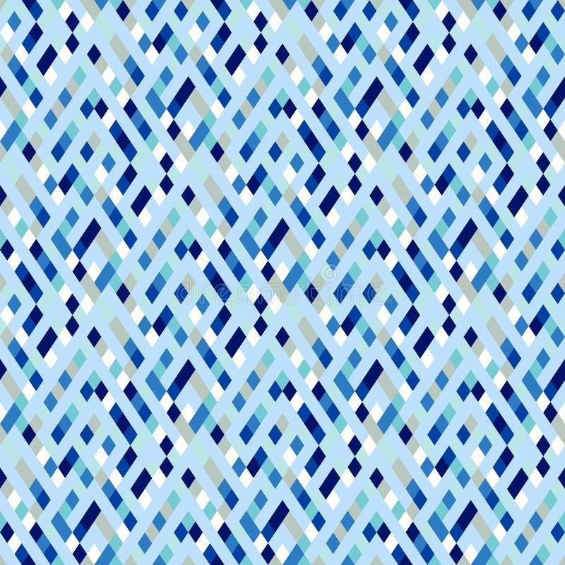 Vector geometric seamless plaid pattern with squares, checks stock illustration