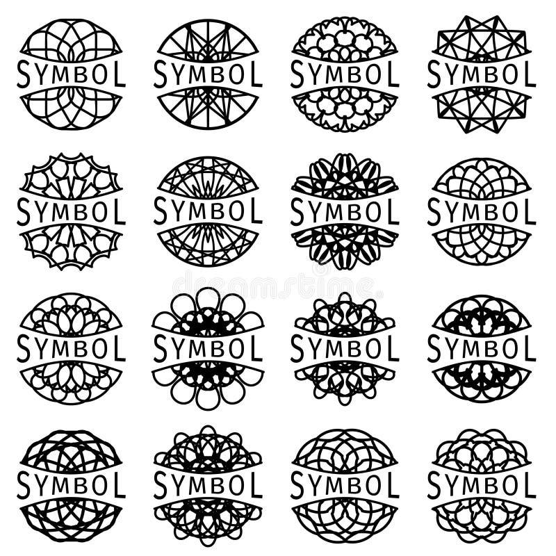 Vector Geometric Symbols Stock Vector Illustration Of Flower 50632769