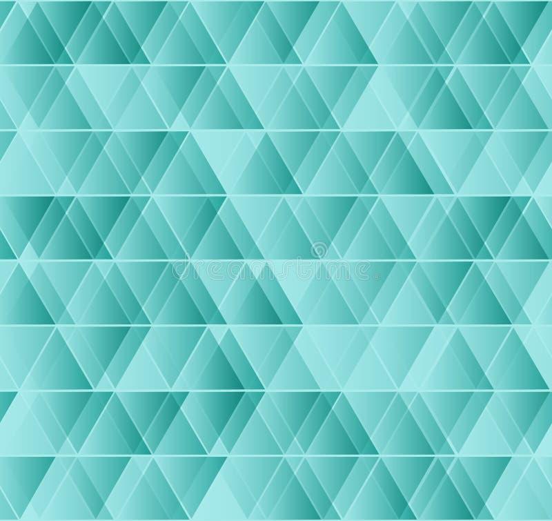 Vector geometrisch naadloos driehoekspatroon stock fotografie