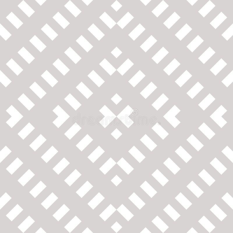 Vector geometrisch naadloos patroon Abstract wit en grijs etnisch ornament vector illustratie