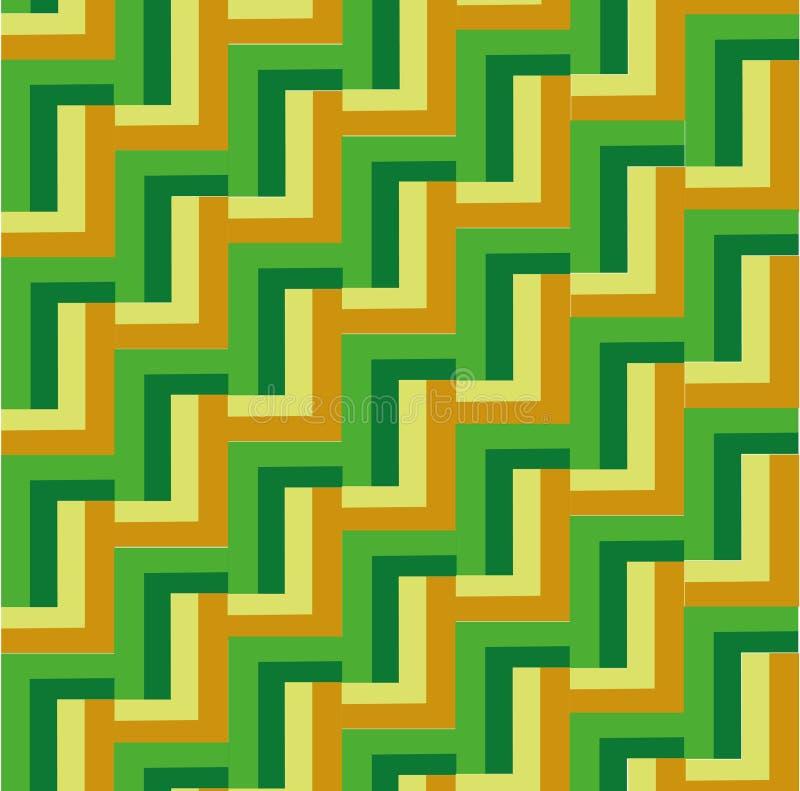 Vector geometrisch patroon vector illustratie