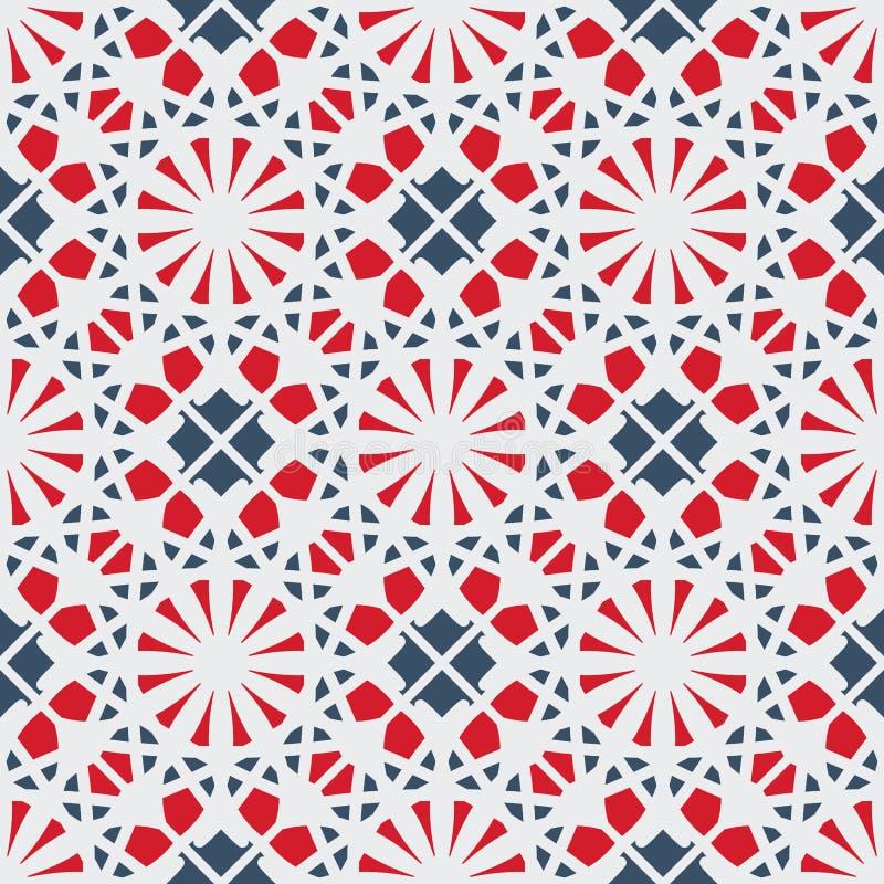 Vector geometrisch patroon stock illustratie