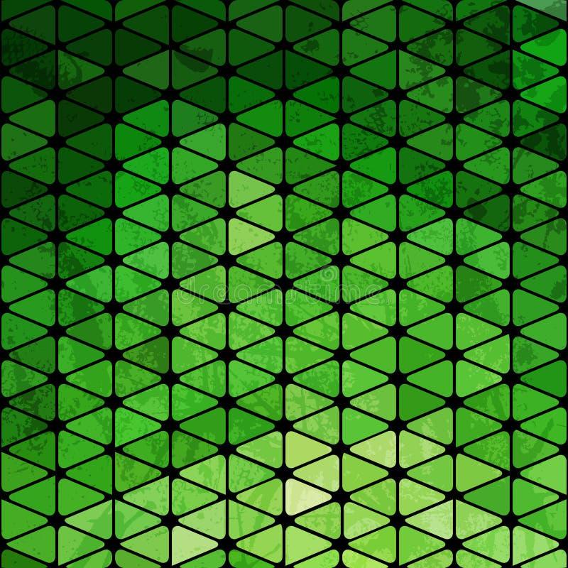 Vector geometrisch patroon met geometrische vormen, ruit Sq dat stock illustratie