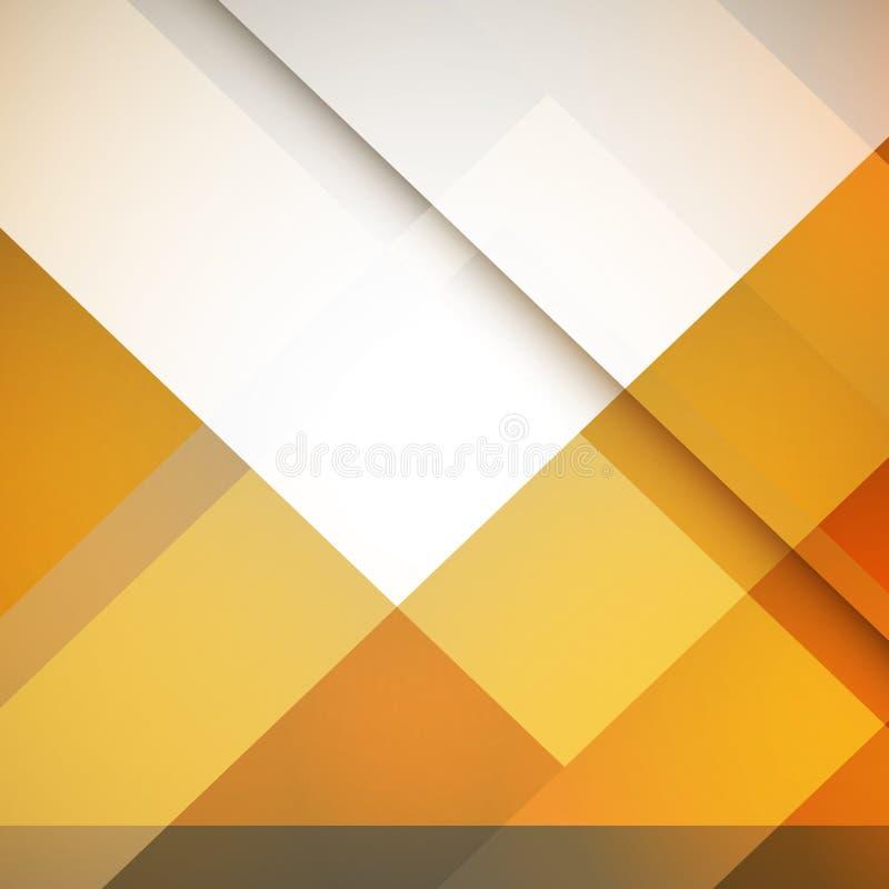 Vector geometrische abstracte achtergrond met driehoeken en lijnen Motieontwerp vector illustratie