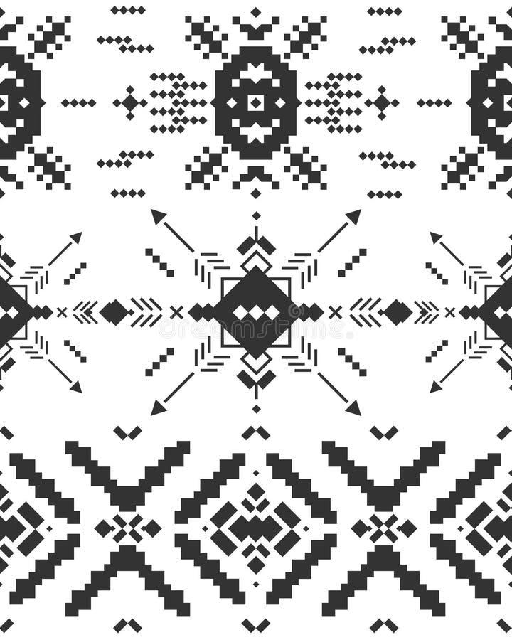 Vector geometrische achtergrond royalty-vrije illustratie