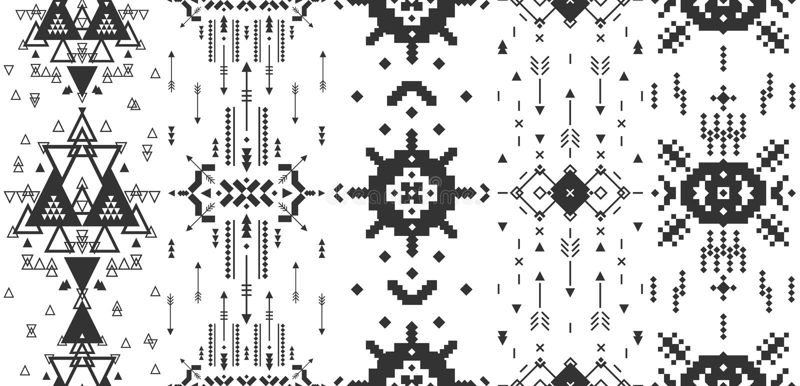 Vector geometrische achtergrond vector illustratie