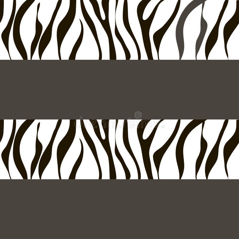 Vector gestreepte achtergrond met sporen vector illustratie