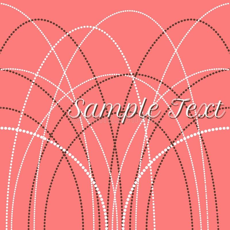 Vector gevoelige parelparels voor achtergronden, kaarten royalty-vrije illustratie