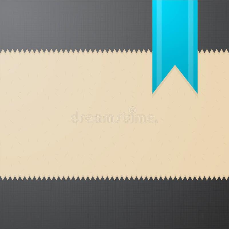 Vector geweven achtergrond met blauwe referentie royalty-vrije illustratie