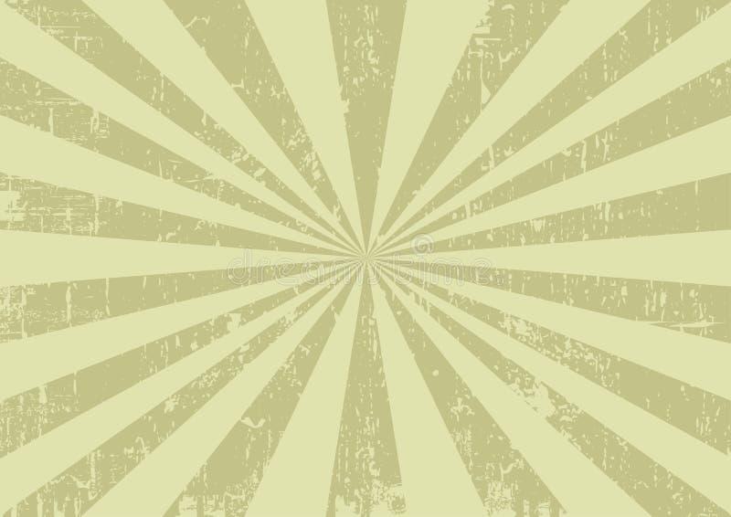 Vector gewreven uitstekende achtergrond royalty-vrije illustratie