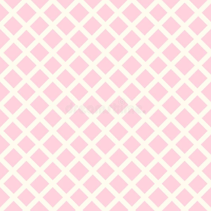 Vector girlish seamless pattern royalty free illustration