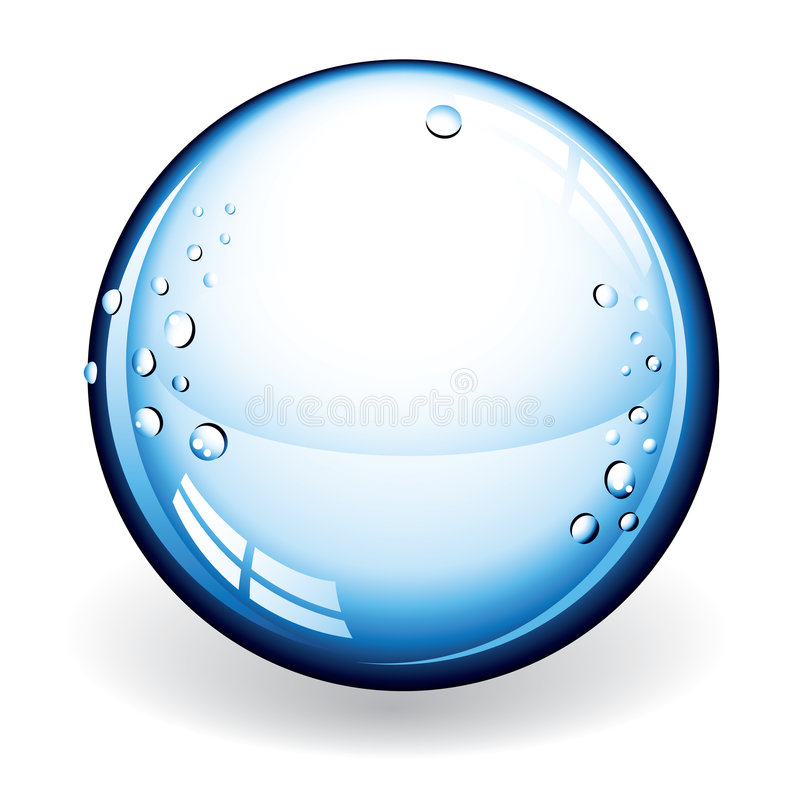 Download Vector Glass Ball stock vector. Image of future, round - 9020627