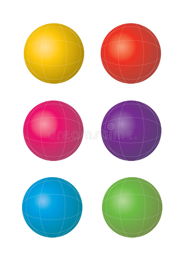 Free Vector Globe Royalty Free Stock Photos - 6818918