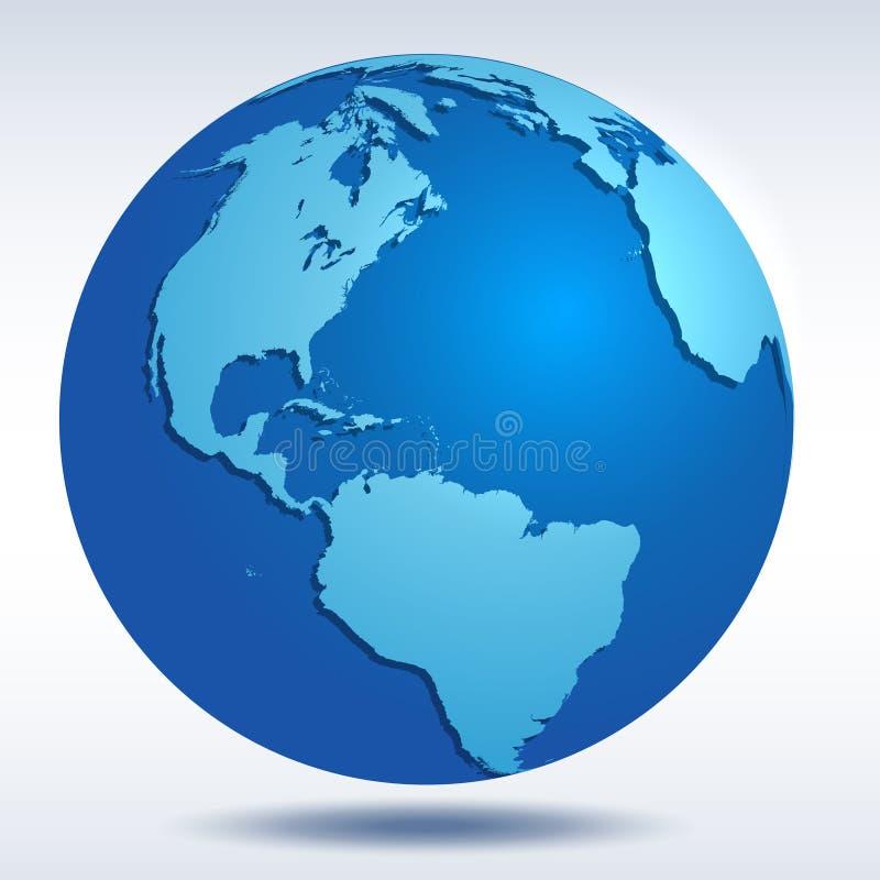 Free Vector Globe Icon Royalty Free Stock Photo - 52068055