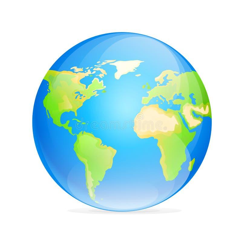Vector globe icon color world map stock illustration illustration download vector globe icon color world map stock illustration illustration of ocean globe gumiabroncs Gallery