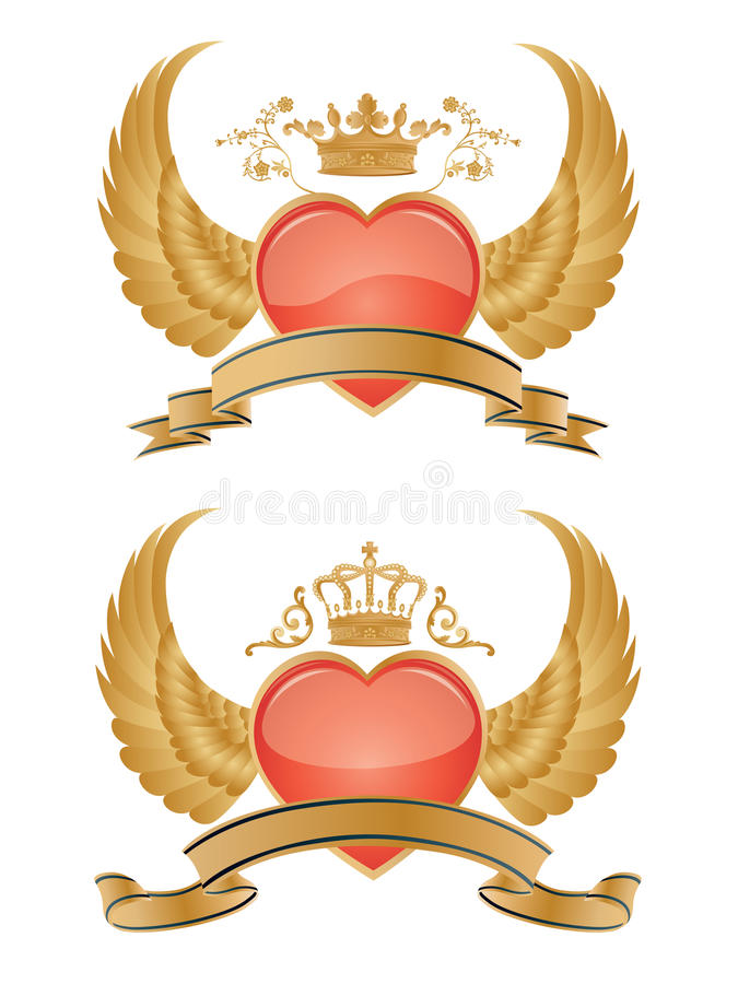 Download Vector glossy hearts. stock vector. Illustration of shape - 9951976