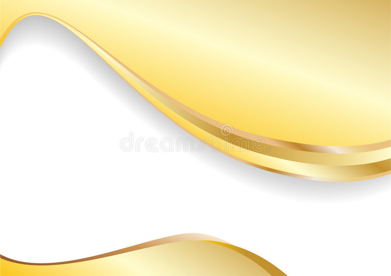 Vector gold background. Clip-art