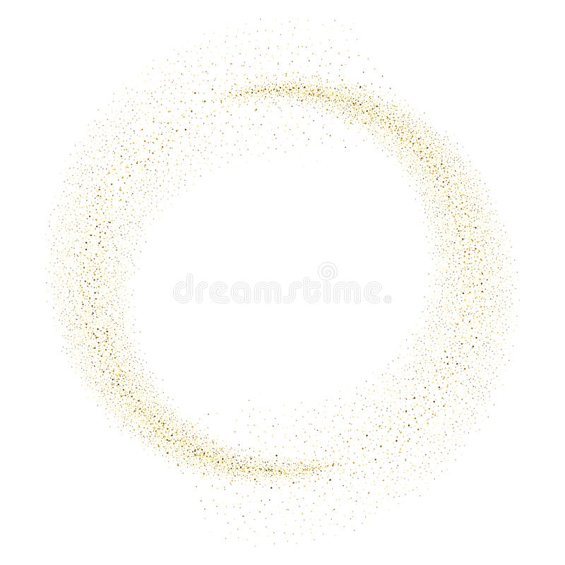 vector gold glitter wave abstract background stock vector