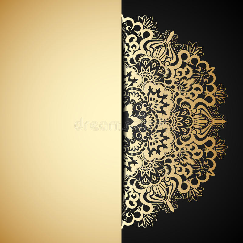 Download Vector Gold Ornament. Stock Photos - Image: 31547243