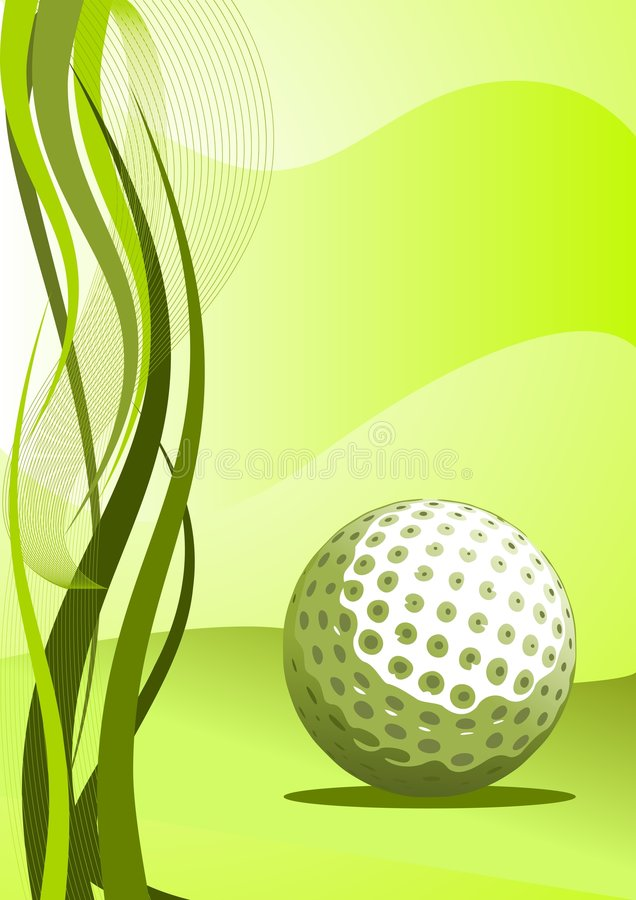 Download Vector Golf Background stock vector. Image of modern, object - 9105986