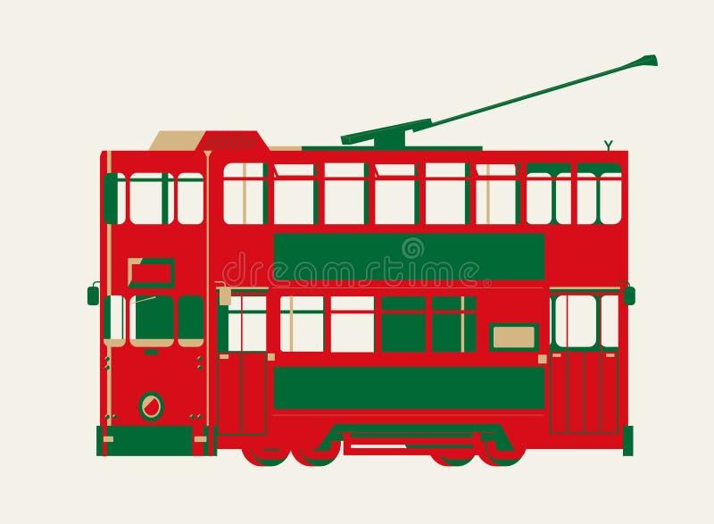 Vector gr?fico de Hong Kong Tram libre illustration