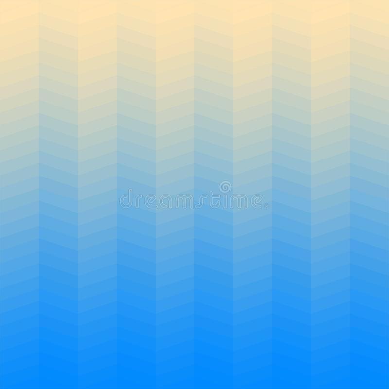 Vector gradient background in shades of blue made from monochrome squares of pixels. Vector gradient background in shades of blue made from monochrome squares royalty free illustration