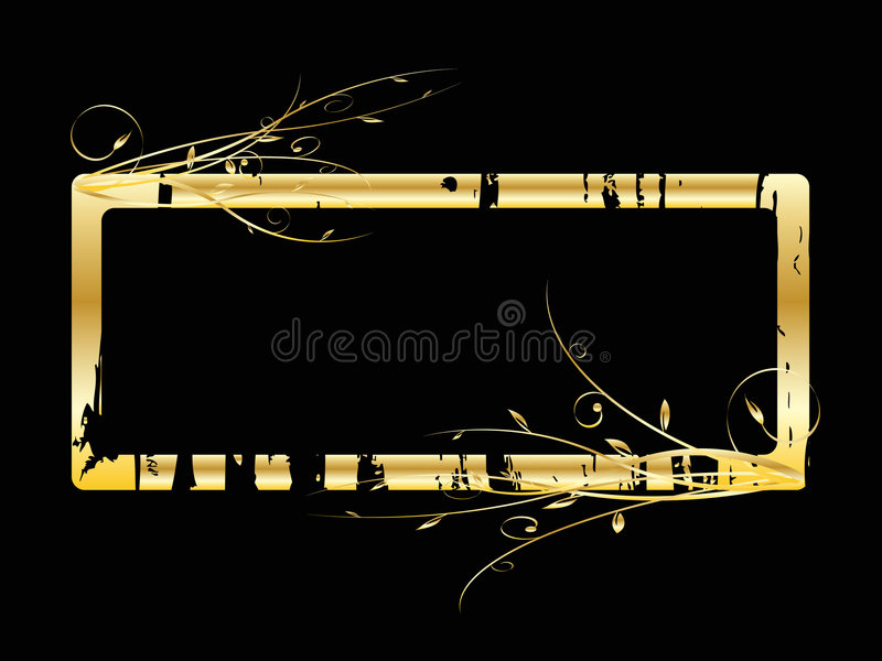 Download Vector grange frame stock illustration. Image of design - 4562053