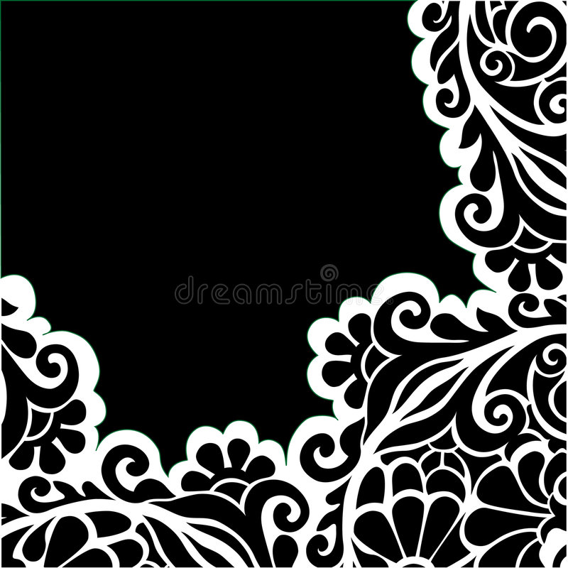 Vector graphic floral background vector illustration