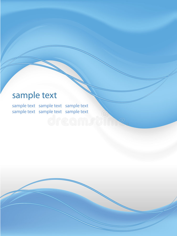 Download Vector graphic layout stock vector. Image of curvy, futuristic - 8228497