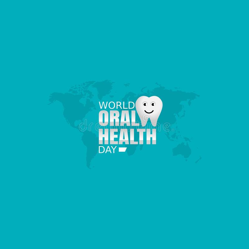 Free Vector Graphic Of World Oral Health Day Good For World Oral Health Day Celebration. Stock Image - 212631501