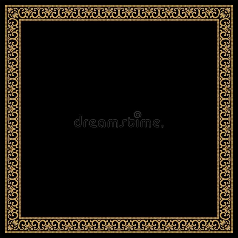 Vector Greek ornament. royalty free stock photo