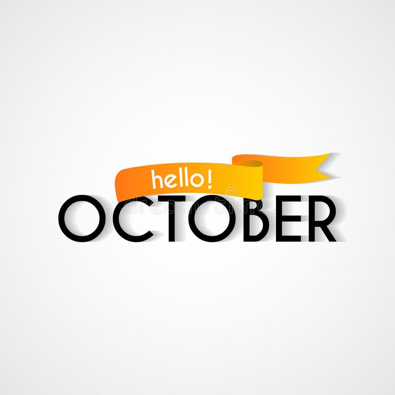 Happy new month october background design stock vector download happy new month october background design stock vector illustration of business greeting m4hsunfo