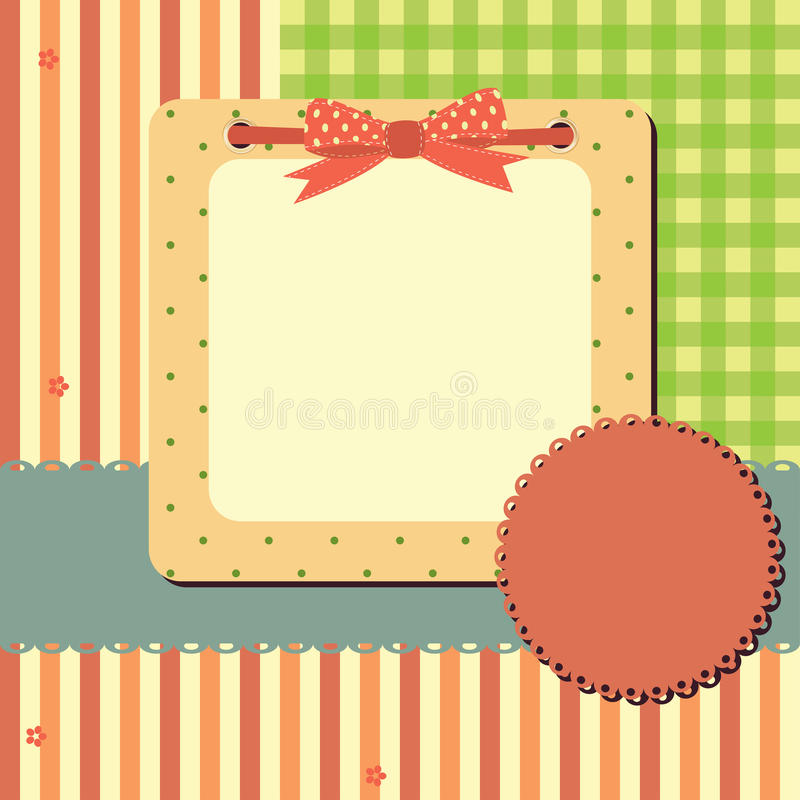 Download Vector greeting frame stock vector. Image of birthday - 21584926