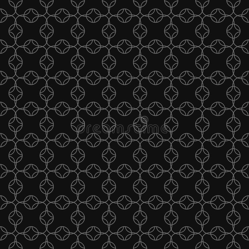 Download Vector Grey Geometric Seamless Pattern Stock Vector - Image: 21603563