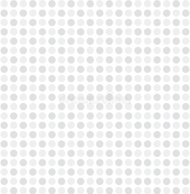 Vector gris blanco del fondo del modelo de punto ilustración del vector