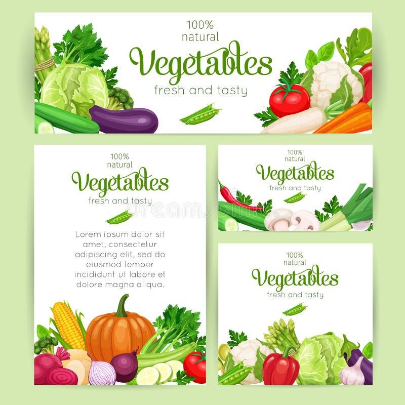 Vector groenten stock illustratie