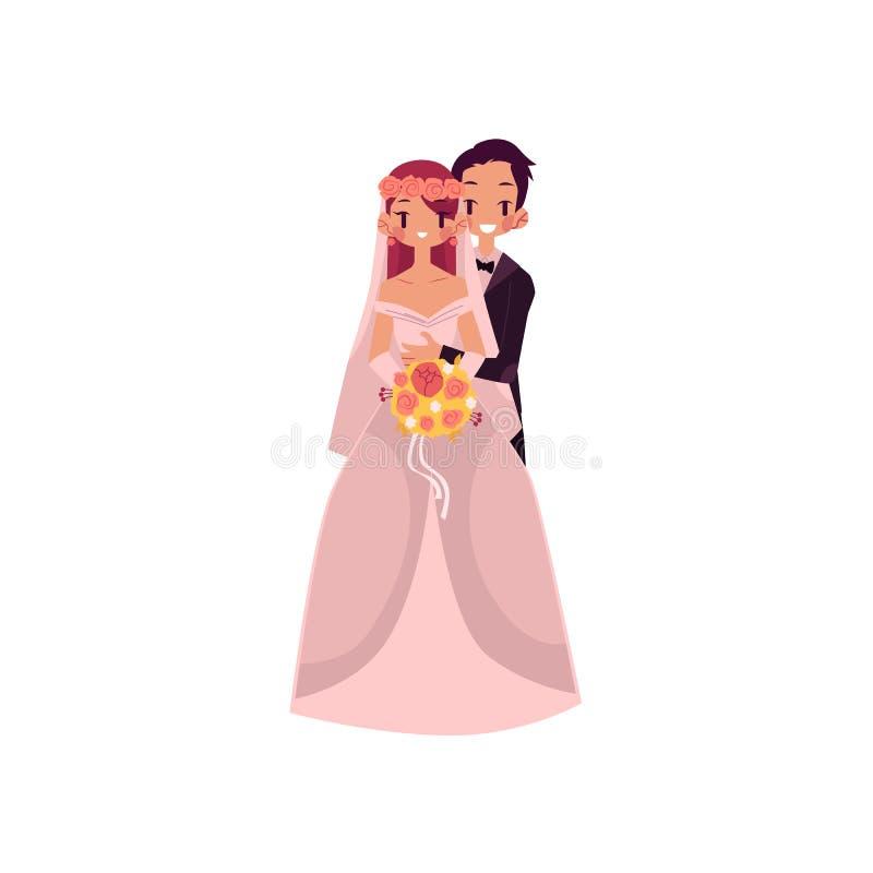 Husband Wife Hug Kiss Cartoon Stock Illustrations – 117 Husband Wife