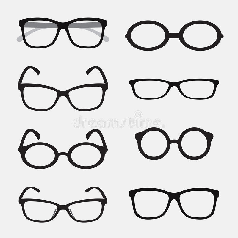 Free Vector Group Of An Glasses Royalty Free Stock Image - 42462726