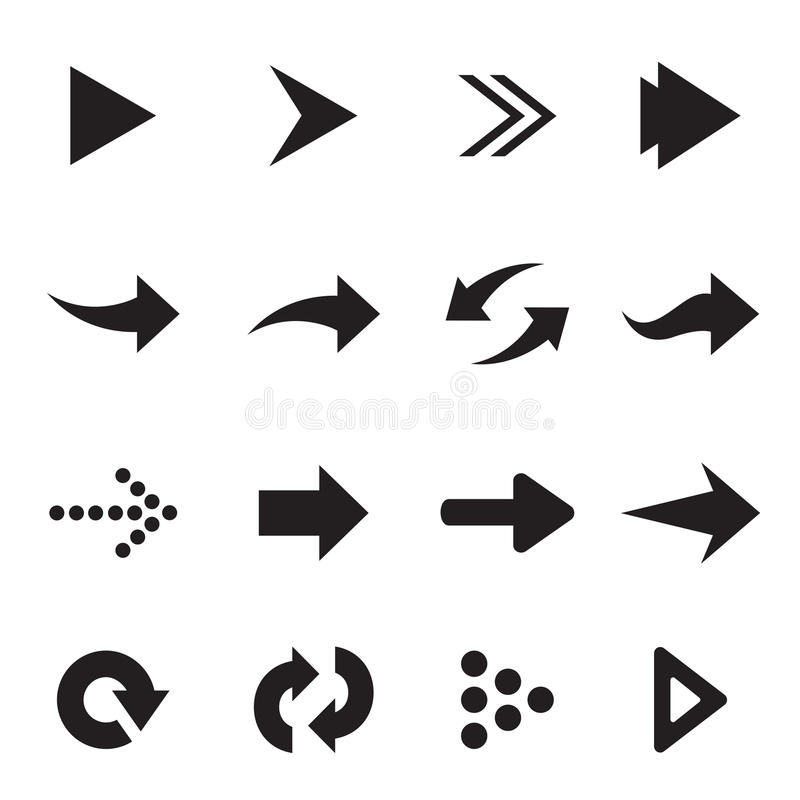 Free Vector Group Of Arrow Stock Image - 42134251