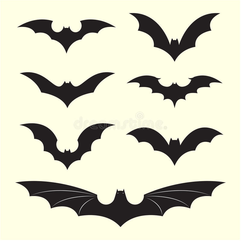Free Vector Group Of Bat Royalty Free Stock Images - 39413189