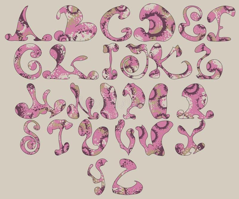 Download Vector Grunge Alphabet stock vector. Illustration of decorative - 21316880