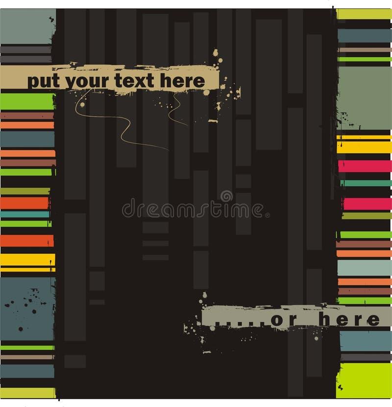Vector grunge background vector illustration