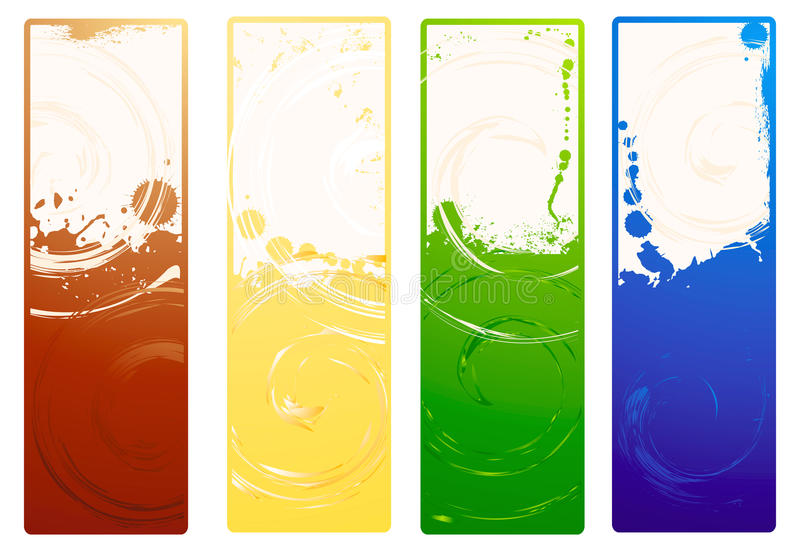 Download Vector grunge banners stock vector. Image of frame, surface - 19218800