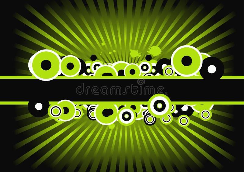 Vector grunge design stock illustration